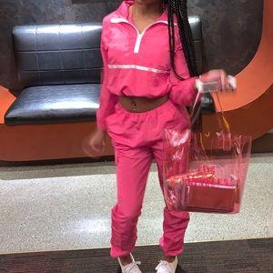 Pink Ttack sweatsuit